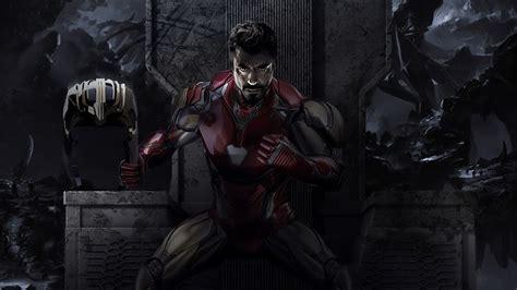 iron man tony stark avengers endgame   wallpaper