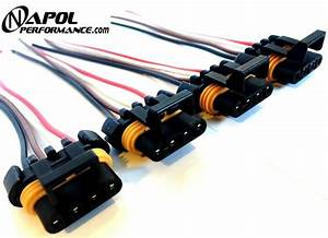 4 X Ls1 Ls6 Ignition Coil Wiring Harness Pigtail Connector