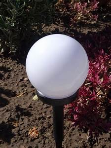 4er set led solarleuchte kugel garten beleuchtung real for Feuerstelle garten mit bonsai led