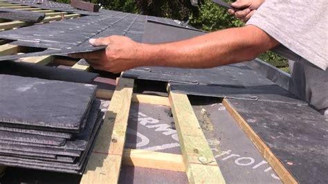 leien dak zelf plaatsen plaatsen van natuurleien 40 22 dakwerken dodemont youtube