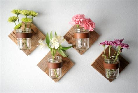 Picture Of Diy Rustic Mason Jar Sconce