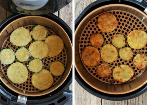 zucchini fried air chips fryer oven fries recipes airfryer recipe sticks healthier easy sustainablecooks toaster tomato snack breading