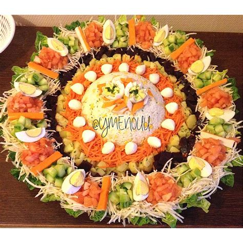riz cuisine salade composée kitchen by ymenouu