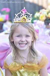 Disney Princess Party with Belle - Part 2 - Creative Juice