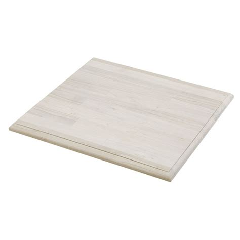 shop unfinished pine square wood table top  lowescom