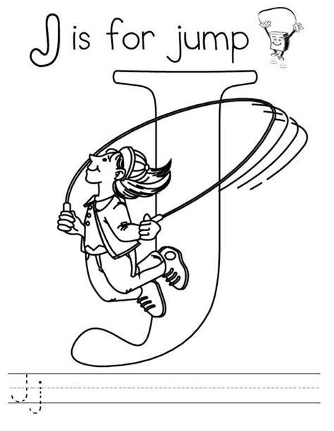 letter    jump worksheet coloring page bulk color