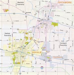 DeKalb County Illinois Map