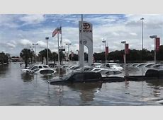 Four dealerships got the worst flood damage among auto