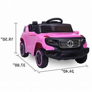 Safety Kids Ride On Car Toys 6v Battery