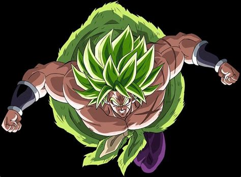 broly super saiyan full power dragon ball art dragon