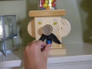 Wooden Gumball Machine · A Storage Unit · Woodwork on Cut