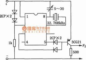 index 2 time control control circuit circuit diagram With is provided to this circuit the clock starts from 00 00 the time is
