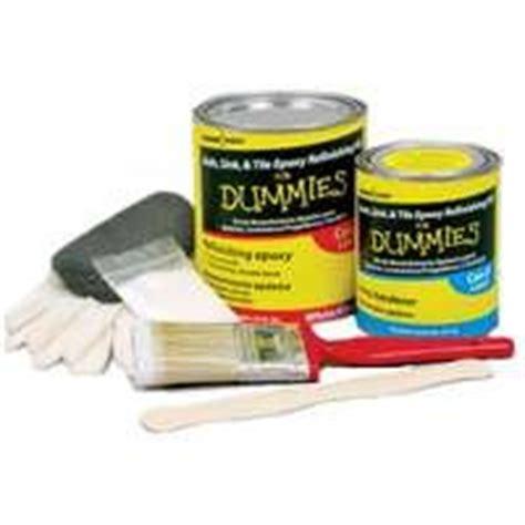 bath sink tile epoxy refinishing kit for dummies white