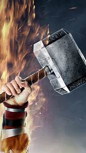 Thor's Hammer Wallpaper - Free iPhone Wallpapers