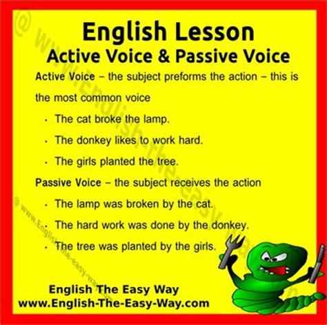 active passive voice through infographics