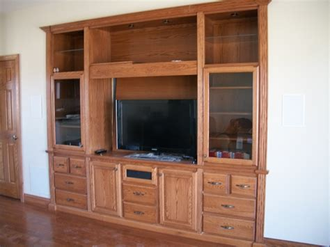 wood built  home entertainment center plans  plans