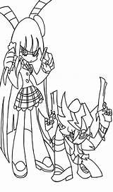 Stocking Panty Drawing Line Deviantart Anime Drawings License Manga sketch template