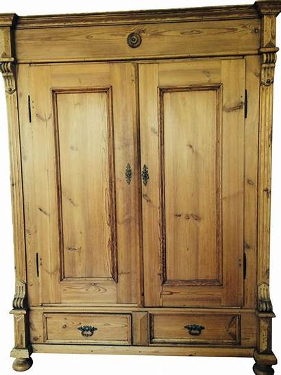 Armoire Antique Pine German Chairish Armoires