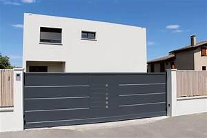 Portail En Aluminium : portails aluminium vend me atlantem vendome ~ Melissatoandfro.com Idées de Décoration