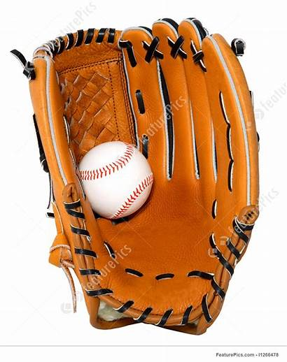 Baseball Glove Ball Gloves Clipart Isolated Bat
