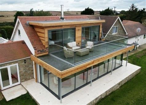 fenetre bandeau cuisine idée relooking cuisine veranda ultra moderne veranda