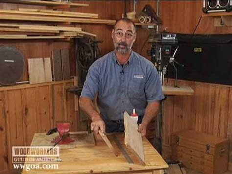woodworking tips techniques joinery strength  glue