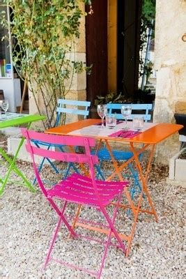 bright color patio chairs for the home