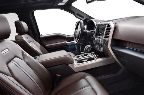 ford f 150 platinum interior 2015 ford f 150 revealed new generation vehicles