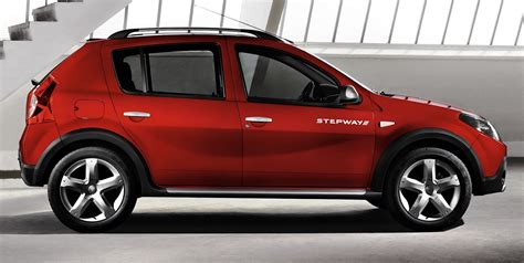 dacia stepway technical details history