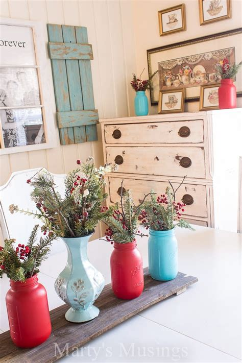 Decorate With Aqua And Red