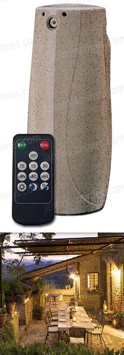 anti moustique exterieur naturel diffuseur anti moustiques ext 233 rieur au pyr 232 thre t 233 l 233 commande anti guepe et moustiques bio
