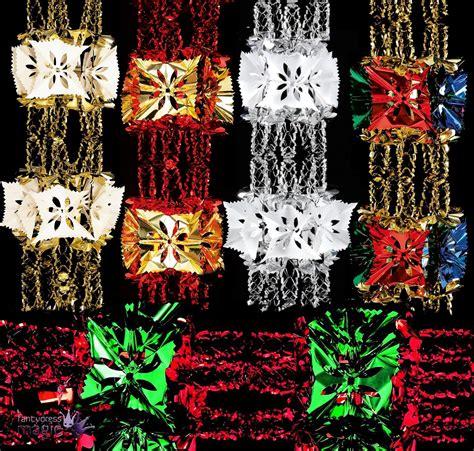 foil luxury garland large foil christmas xmas