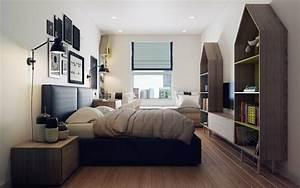 Bett Holz Dunkel : wohnung gestalten im skandinavischen stil 10 apartments ~ Markanthonyermac.com Haus und Dekorationen