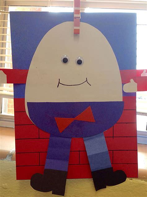 nursery rhymes humpty dumpty craft prek nursery 489 | dfa167433d9101f377c73604883f0547