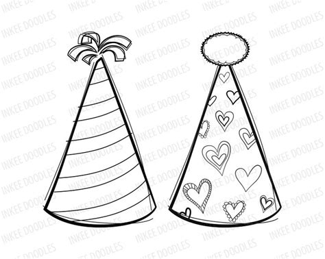 birthday hat clipart black and white celebration clip clipart panda free clipart