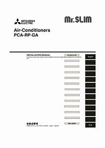 Mitsubishi Mr Slim Pca Rp Ga Ceiling Suspended Air
