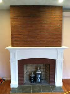 Fireplace Mantels Over Brick
