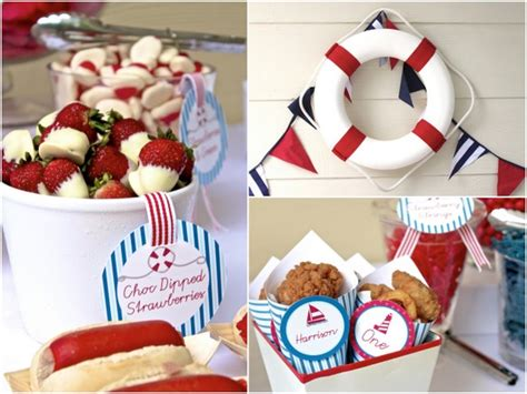 nautical baby shower food ideas laugh and plan nautical theme baby shower