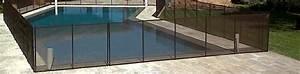Barriere Protection Piscine : barri re d montable en filet pvc beethoven prestige pour la protection piscine ~ Melissatoandfro.com Idées de Décoration