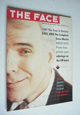 five minutes with martin edition magazine the magazine steve martin cover january 1988
