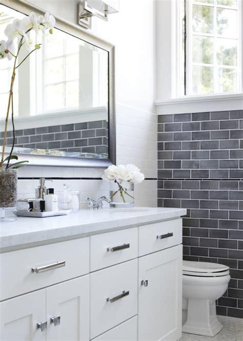 gray subway tile contemporary bathroom urrutia design