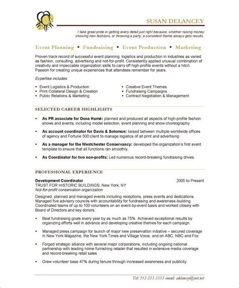 20 best images about marketing resume sles on pinterest