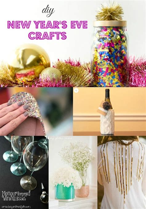 Diy New Year's Eve Craft Ideas  Crafts, News Articles And