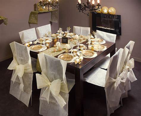housse de chaise en papier 4 housses de chaise intissé avec noeud noel