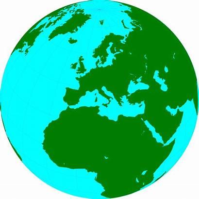 Globe Transparent Clipart Europe Clip Illustration Showing