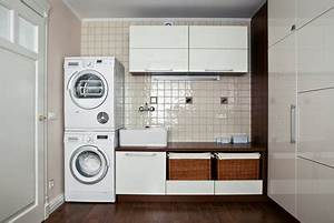 Waschmaschine Und Trockner Stapeln : schrank f r waschmaschine und trockner sinnvoll ~ Markanthonyermac.com Haus und Dekorationen