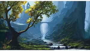 Fantasy Nature Wallpaper ·①