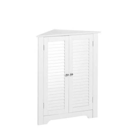 riverridge home ellsworth single door floor cabinet riverridge home ellsworth 25 5 in w 3 shelf corner