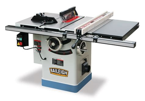 sawstop industrial table saw baileigh 20 in x 27 in riving knife table saw ts 1040p 30
