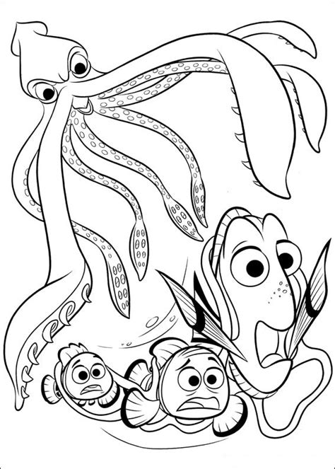 Coloré Gratuit by Finding Dory Coloring Pages To And Print For Free